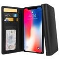 Skórzane Etui-Portfel Twelve South Journal do iPhone XS Max - Czarne