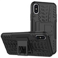 iPhone X / iPhone XS Anti-Slip Hybrid Case - Black