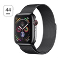 Apple Watch Series 4 LTE MTX32FD/A - Nierdzewna Stal, Bransoleta Mediolańska, 44mm, 16GB - Black Space