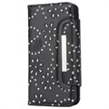 iPhone X / iPhone XS Bling Series Detachable Wallet Case - Black