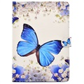 iPad 9.7 2017/2018 Wonder Series Folio Case - Blue Butterfly