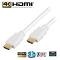 Kabel HDMI High Speed - Biały - 5 MetRóż