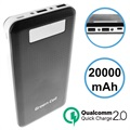 Power Bank Green Cell PB93 Qualcomm QC 2.0 - 20000mAh - Czarn