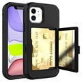 iPhone 12 Mini Hybrid Case with Hidden Mirror & Card Slot