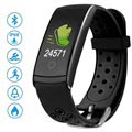 Ksix Fitness Band HR 2 Waterproof Activity Tracker - Black