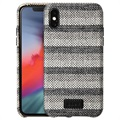 Etui Laut Venture Woven do iPhone X / iPhone XS - Szare