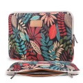 "Lisen Ultra-Stylish Universal Laptop Sleeve - 14"" - Colorful Leaves"