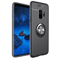 Samsung Galaxy S9 Magnetic Ring Grip Case - Black