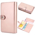 iPhone 7 Plus / iPhone 8 Plus Multifunctional Detachable Wallet Case - Rose Gold