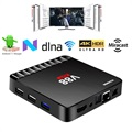 Scishion V88 Piano 4K Android 7.1 TV Box with 4GB RAM
