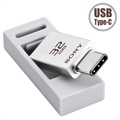 Pendrive Pamięć Flash Sony Dual Connection USB Type-C USM32CA1 - 32GB