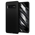 Etui z TPU Spigen Liquid Air do telefonu Samsung Galaxy S10 - Czarne