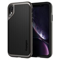 Etui Spigen Neo Hybrid do iPhone XR - Stalowe