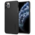 iPhone 11 Pro Cienkie Etui Spigen Thin Fit - Czarne