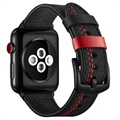 Apple Watch Series 5/4/3/2/1 Skórzany Pasek Stitched - 42mm, 44mm