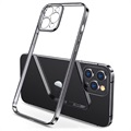 Etui z TPU Sulada Plating Frame do telefonu iPhone 12 Pro Max