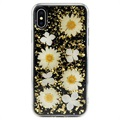 iPhone X / iPhone XS Hybrydowe Etui SwitchEasy Flash - Stokrotka Daisy