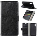Huawei P20 Pro Wallet Case with Stand Feature - Black