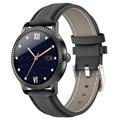 Waterproof Bluetooth Smart Watch CF18P - Leather Strap
