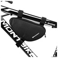 Wozinsky WBB11BK Bicycle Frame Bag - 1.5l - Black