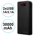 Powerbank iMyMax Carbon MM-PB/006 2XUSB - 30000mAh - Czarny