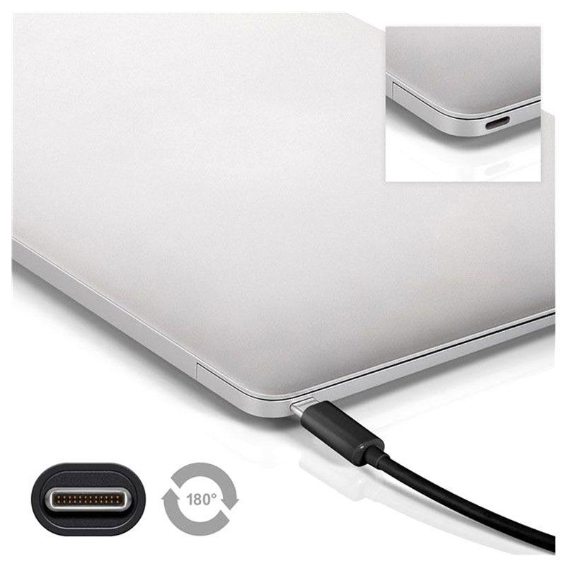 Kabel Goobay SuperSpeed USB 3.0 Typu B USB 3.1 Typu C 1m